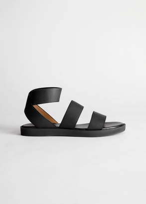 6d8ed3f7d403 And other stories Elastic Strap Sandal