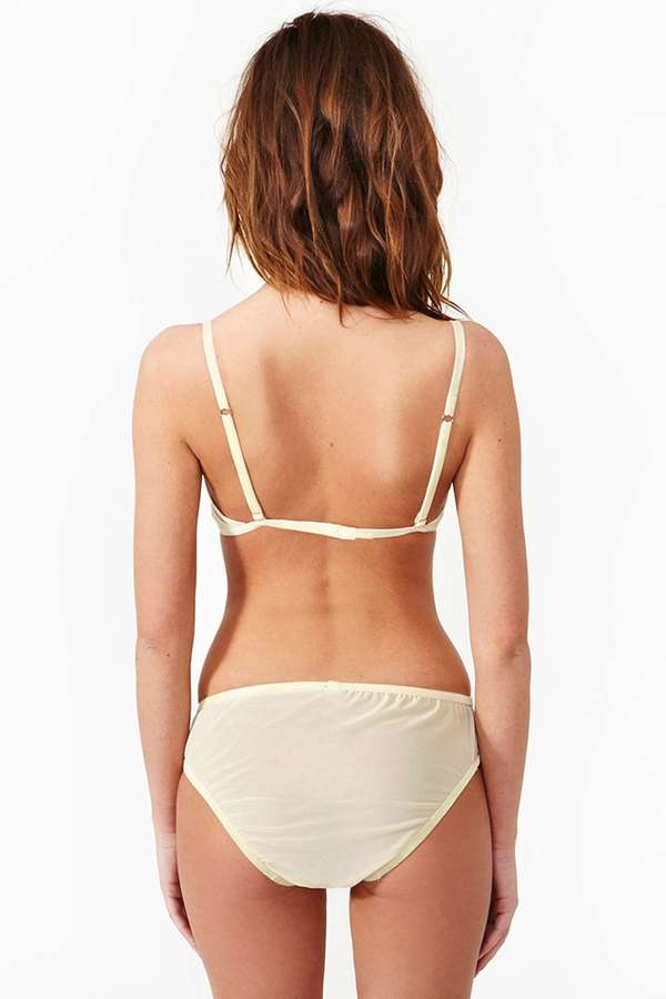 Nasty Gal Lonely Gardenia Lace Panty