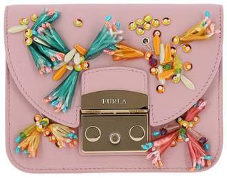 Furla Mini Bag Clivia Metropolis Mini Bag In Genuine Leather With All Over Applications