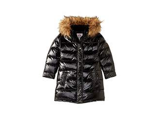Appaman Kids Long Down Coat with Faux Fur Hood (Toddler/Little Kids/Big Kids)