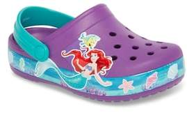 Crocs TM) Disney(R) Princess Ariel Crocband Slip-On