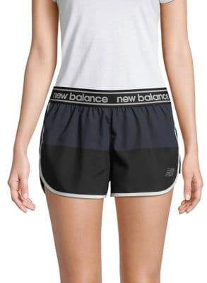 New Balance Colorblock Athletic Shorts