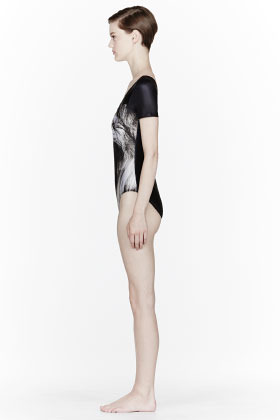 We Are Handsome Grayscale The Impressor Bodysuit