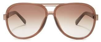 Bobbi Brown Jake 59mm Aviator Sunglasses