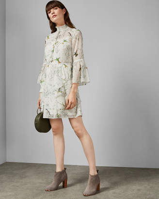 5cedd3469b7 Ted Baker ANDRAY Fortune layered ruffle dress