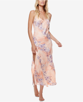 Free People Cassie Girl Printed Slip Dress $128 thestylecure.com