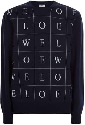 Loewe Letters Logo Sweater