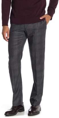 Tommy Hilfiger Tan Black Plaid Wool Suit Separates Pants - 30-34 Inseam