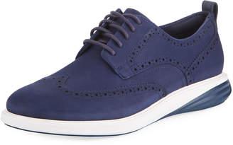 Cole Haan Men's Grand Evolution Suede Sneakers, Blue