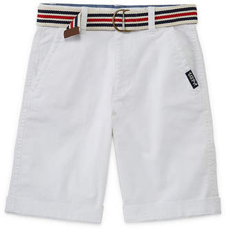 U.S. Polo Assn. USPA Chino Shorts - Big Kid Boys