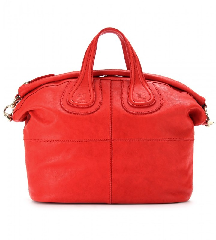 Givenchy NIGHTINGALE LEATHER TOTE