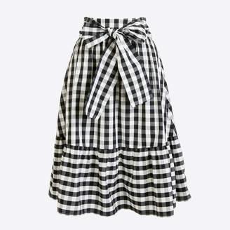 J.Crew Factory Tie-waist midi skirt