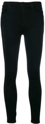 J Brand stretch skinny cropped trousers