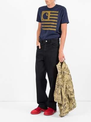 Comme des Garcons Junya Watanabe Man Printed t-shirt x carhartt