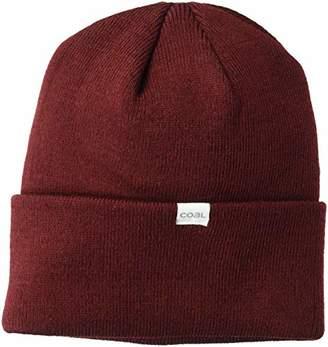 Coal Men's The Crave Fine Knit Cuffed Beanie Hat