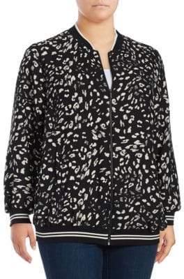 Vince Camuto Patterned Print Jacket