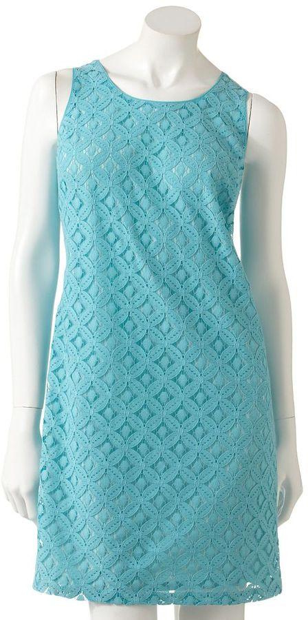 Apt. 9 lace shift dress