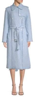 Michael Kors Tweed Trench Coat