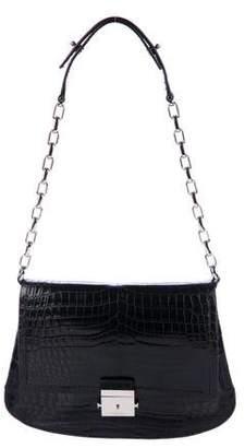 Michael Kors Crocodile Mia Shoulder Bag