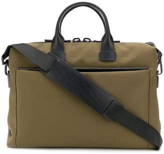 Troubadour top handle laptop bag