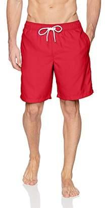 """Amazon Essentials Men's Quick-Dry Solid 9"""" Swim Trunk"""