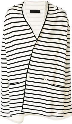 Haider Ackermann oversized striped blazer