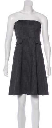 Tocca Strapless A-Line Dress