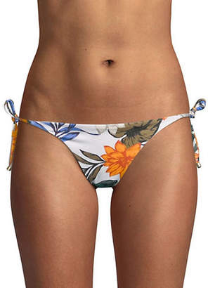 Vitamin A Elle Printed Tie-Side Bikini Bottoms