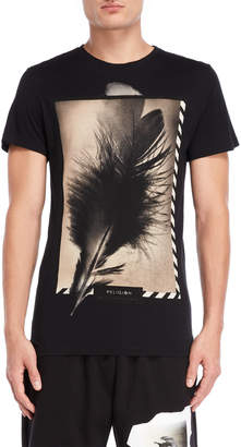 Religion Feather Graphic Tee