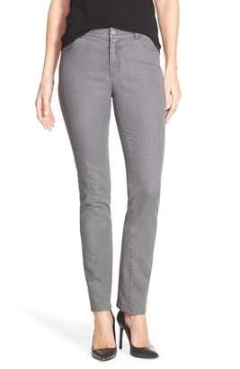 Lafayette 148 New York Curvy Fit Slim Leg Jeans