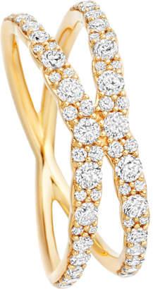 Astley Clarke Interstellar 14ct yellow-gold diamond fusion ring
