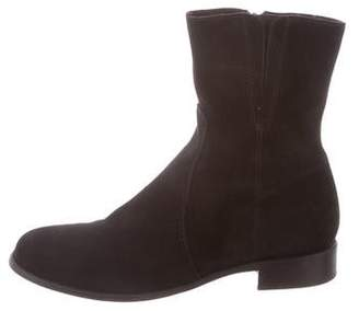 La Canadienne Suede Ankle Boots