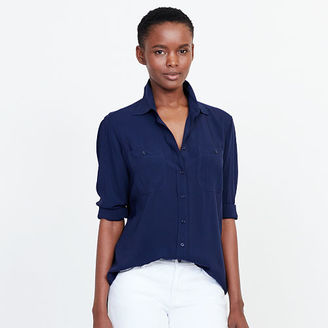 Ralph Lauren Jersey Button-Down Shirt $89.50 thestylecure.com