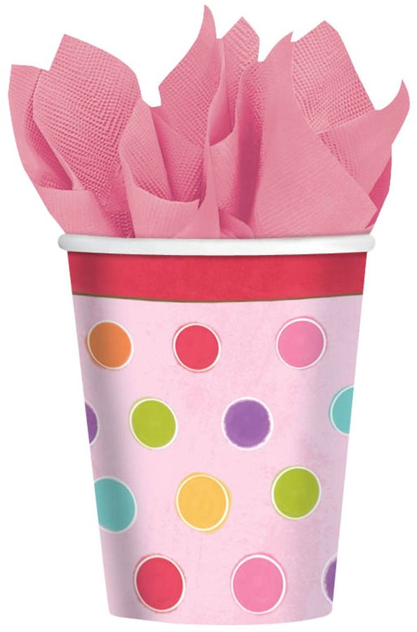 Amscan Sweet Stuff Birthday Cups 8 Ct.