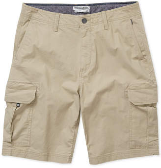 Billabong Men Scheme Stretch Ripstop Cargo Shorts