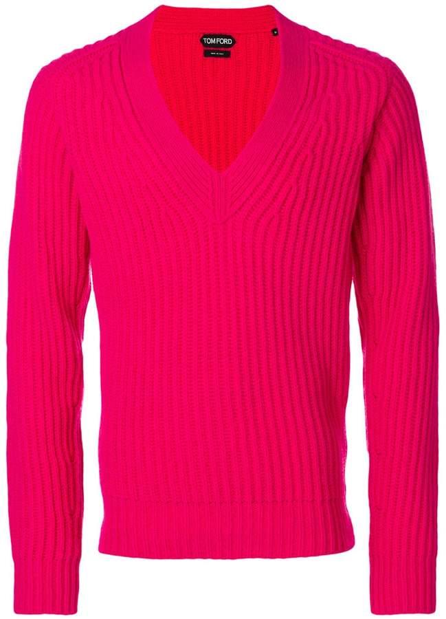 Tom Ford deep v-neck sweater