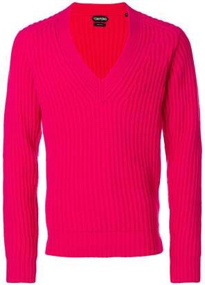 Tom Ford deep v-neck sweater