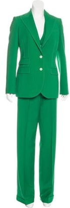 Dolce & Gabbana Three-Piece Wool Pant Suit $495 thestylecure.com