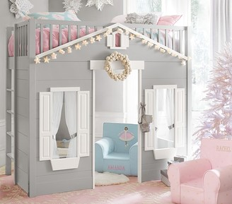 Pottery Barn Kids Playhouse Loft Bed