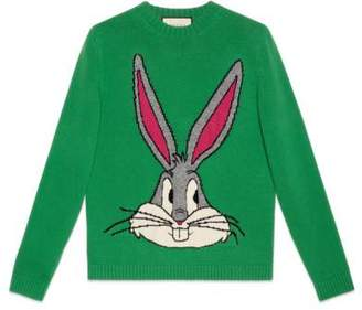 Gucci Bugs Bunny wool knit sweater