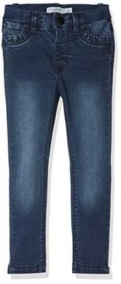 Name It Baby Girls' Nmfpolly Dnmtrilla 3086 Pant Noos Jeans Dark Blue Denim