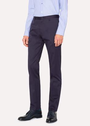 Paul Smith Men's Slim-Fit Indigo Stretch-Cotton Chinos