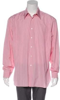 Salvatore Ferragamo Plaid Button-Up Shirt
