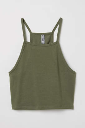H&M Short Camisole Top - Green