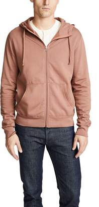 Save Khaki Zip Hooded Sweatshirt