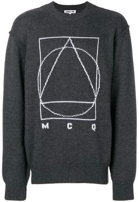 McQ Glyph Icon sweater