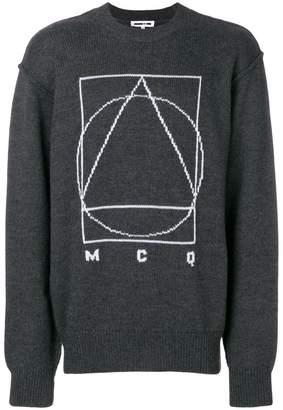 McQ Glyph Icon sweater