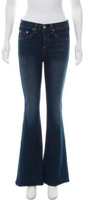 Rag & Bone Mid-Rise Bell Bottom Jeans