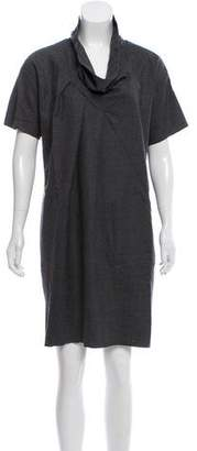 Derek Lam Short Sleeve Wool Dress