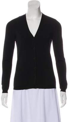 Valentino Virgin Wool V-Neck Cardigan w/ Tags